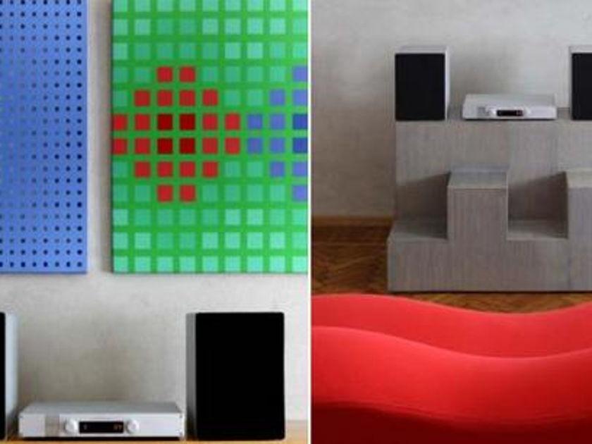 Goldmund Metis Syst Metis 10 processor telos amplified speakers