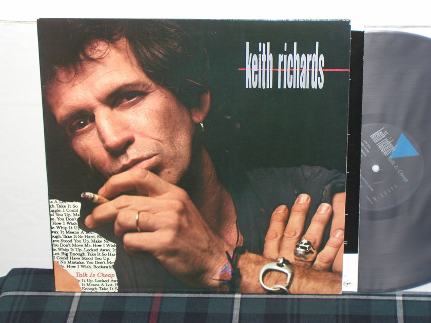 Keith Richards - Talk Is Cheap (Scarce) Virgin 90973-1 from 1988