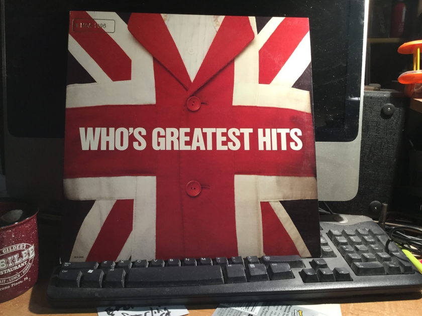 THE WHO - GREATEST HIT'S