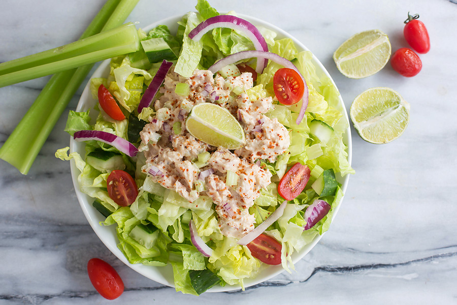 Chili Lime Tuna Salad