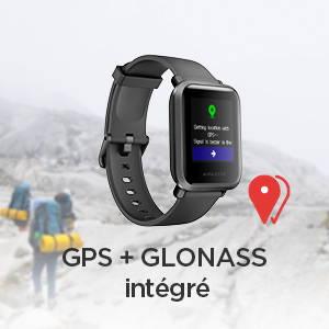Amazfit Bip S - Puce GPS Sony de 28 nm à faible consommation et haute précision