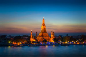 Rivercruise in Bangkok, afternoon
