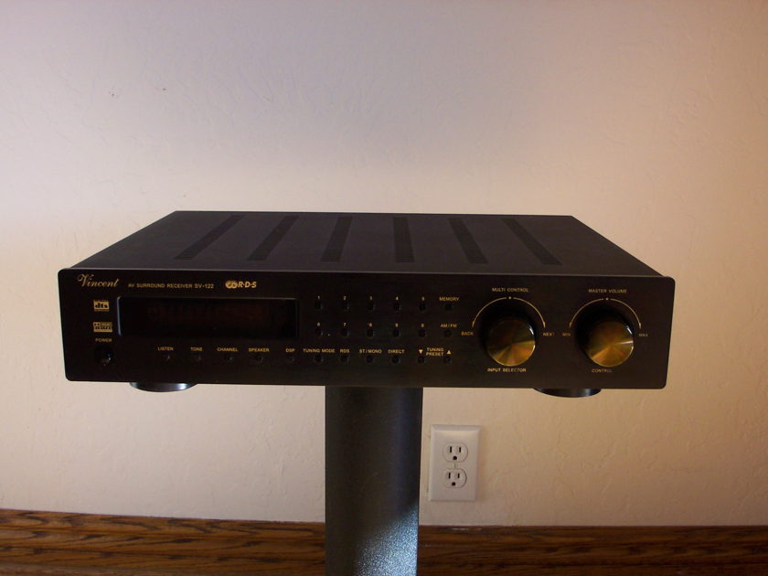 Vincent SV-122 AV Surround 6.1 Receiver Mint, Never Used, List $1325, Sell $350