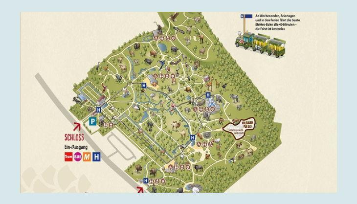 tierpark berlin friedrichsfelde park plan