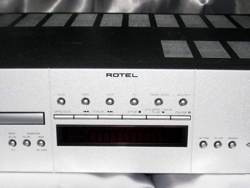 Rotel RSDX-02 DTS receiver with DVD player built in  and remote