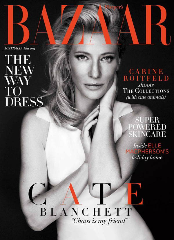 Bazaar fashion magazine fonts
