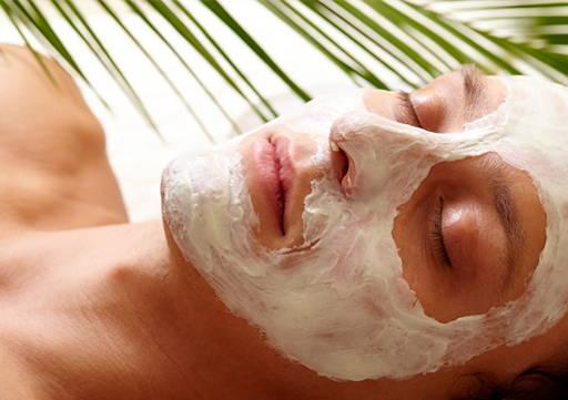 Melon ritual face mask cream