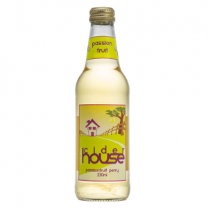 Bottle of Passionfruit Cider