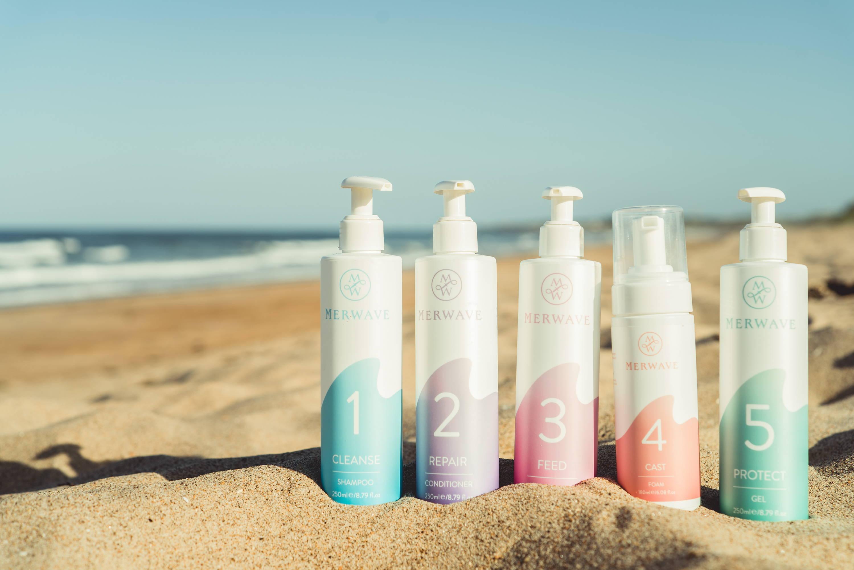 merwave wavy hair shampoo routine uk