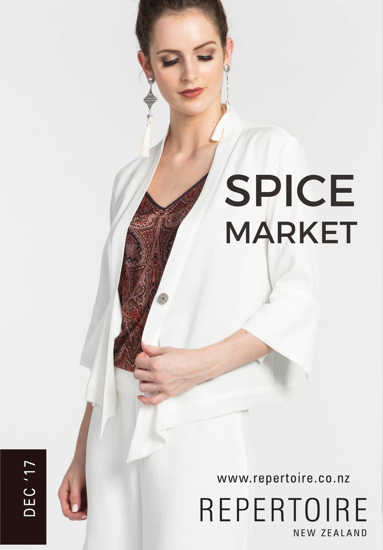 Spice Market Lookbook