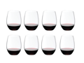 8 Riedel 'O' Stemless Wine Tumblers