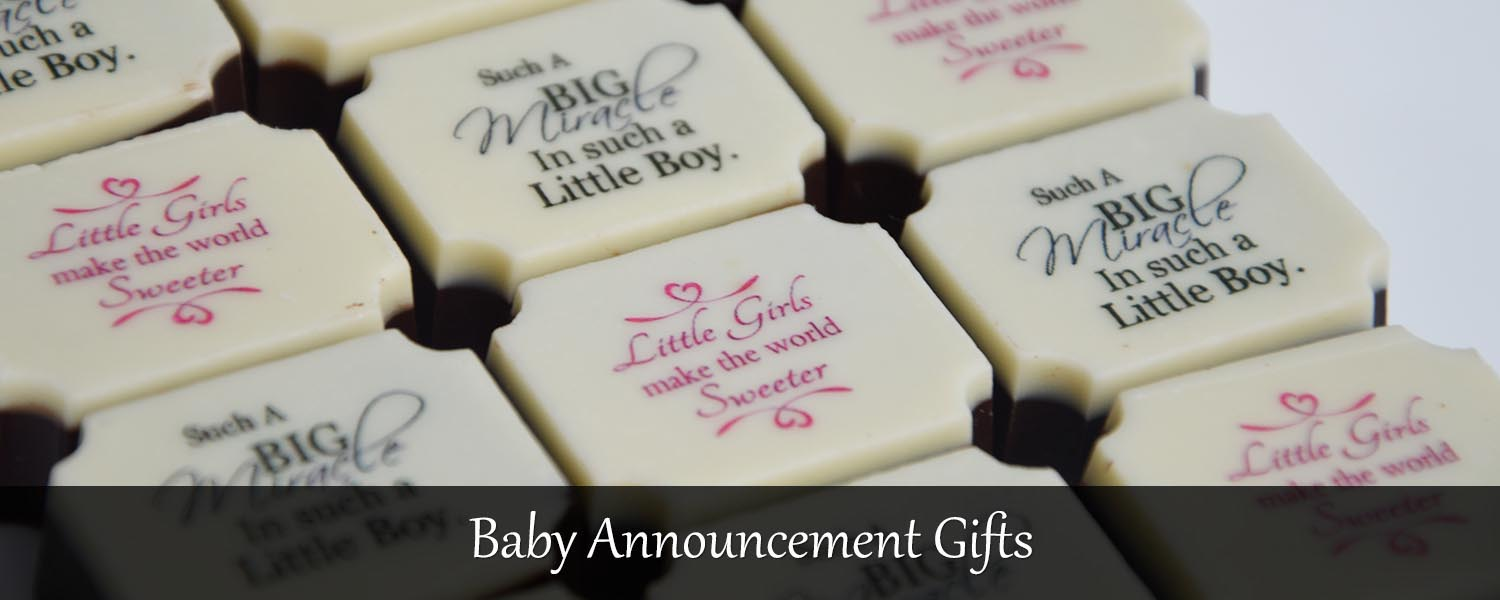 baby birth announcement gifts