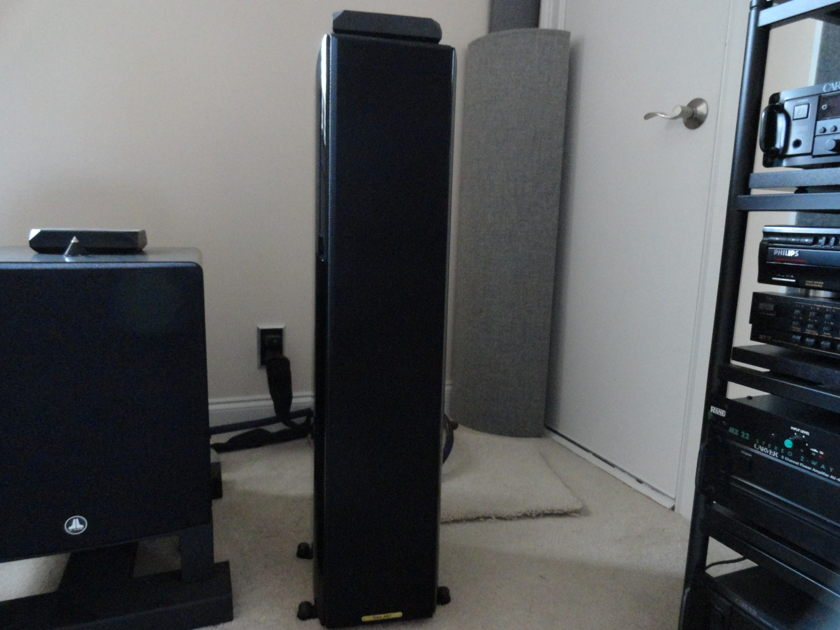 Sonus Faber Toy tower 3-way Piano Black/Leather