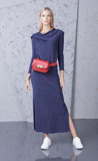 Платье темно-синее Bonali 4057-0528