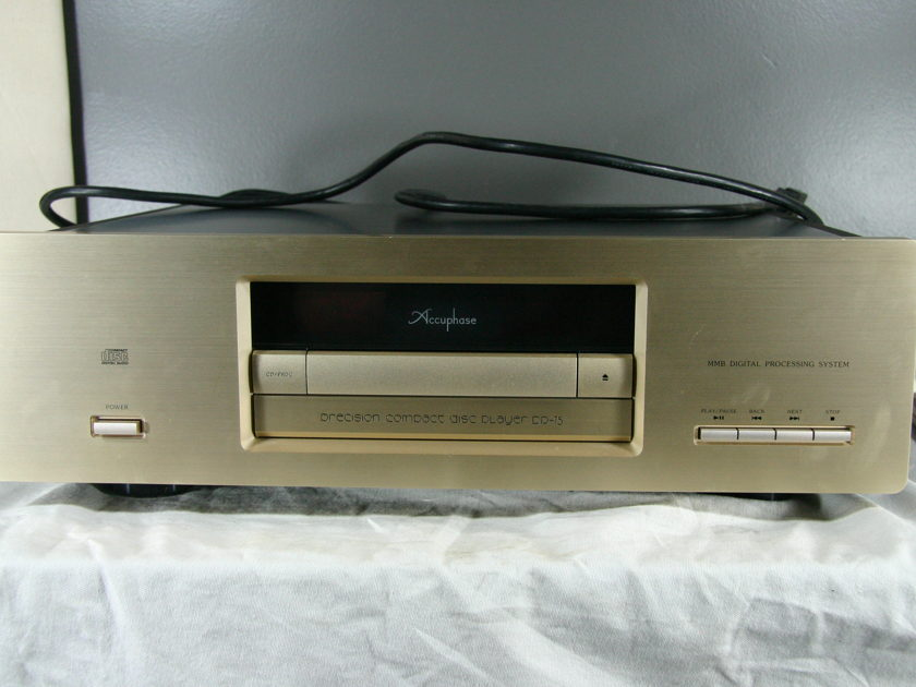 Accuphase Dp-75 Precision CD Player