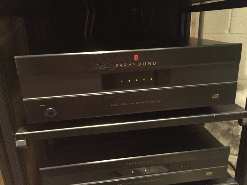Parasound New Classic 5125 5-Channel Amp