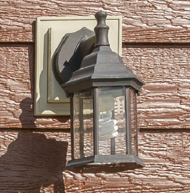 EXTERIOR COACH LIGHT-RUSTIC BRONZE