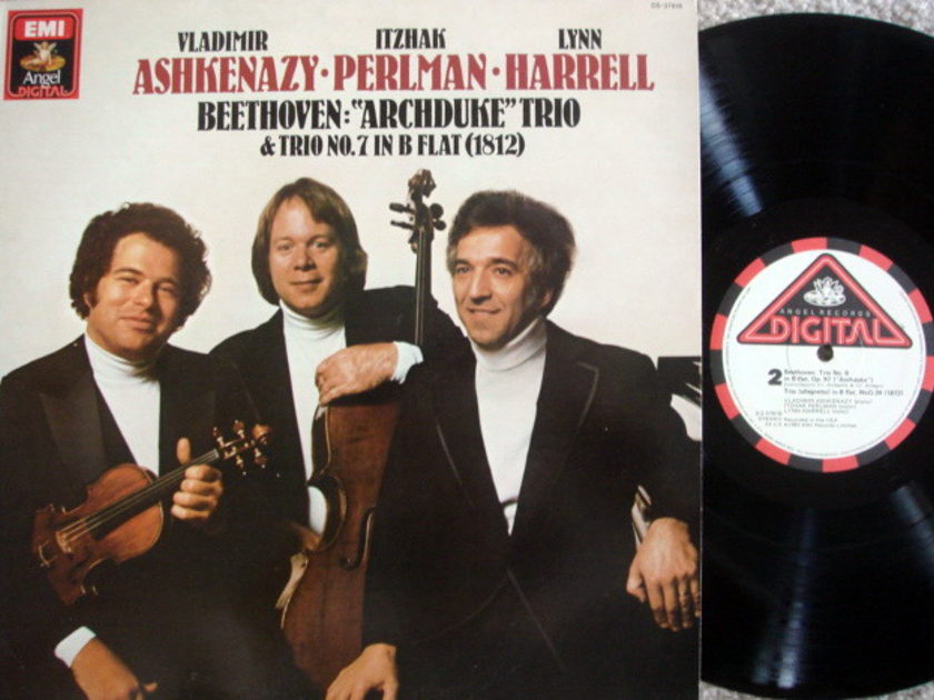EMI Angel Digital / ASHKENAZY-PERLMAN-HARRELL, - Beethoven Archduke Trio, MINT!