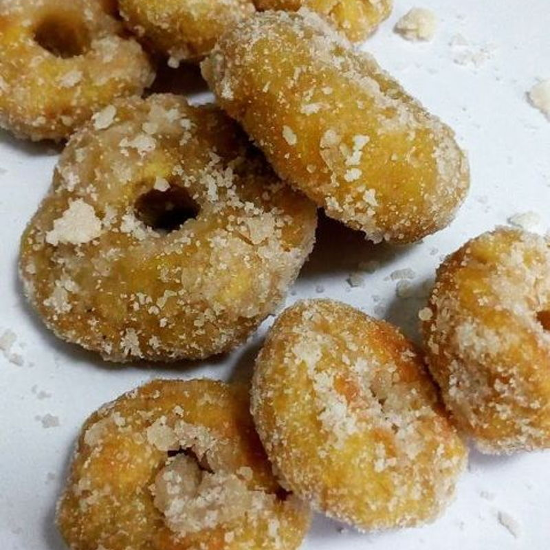 Thanks to Nyonya Cooking for easy-to-follow recipe. Here's my kuih keria made in the Philippines.