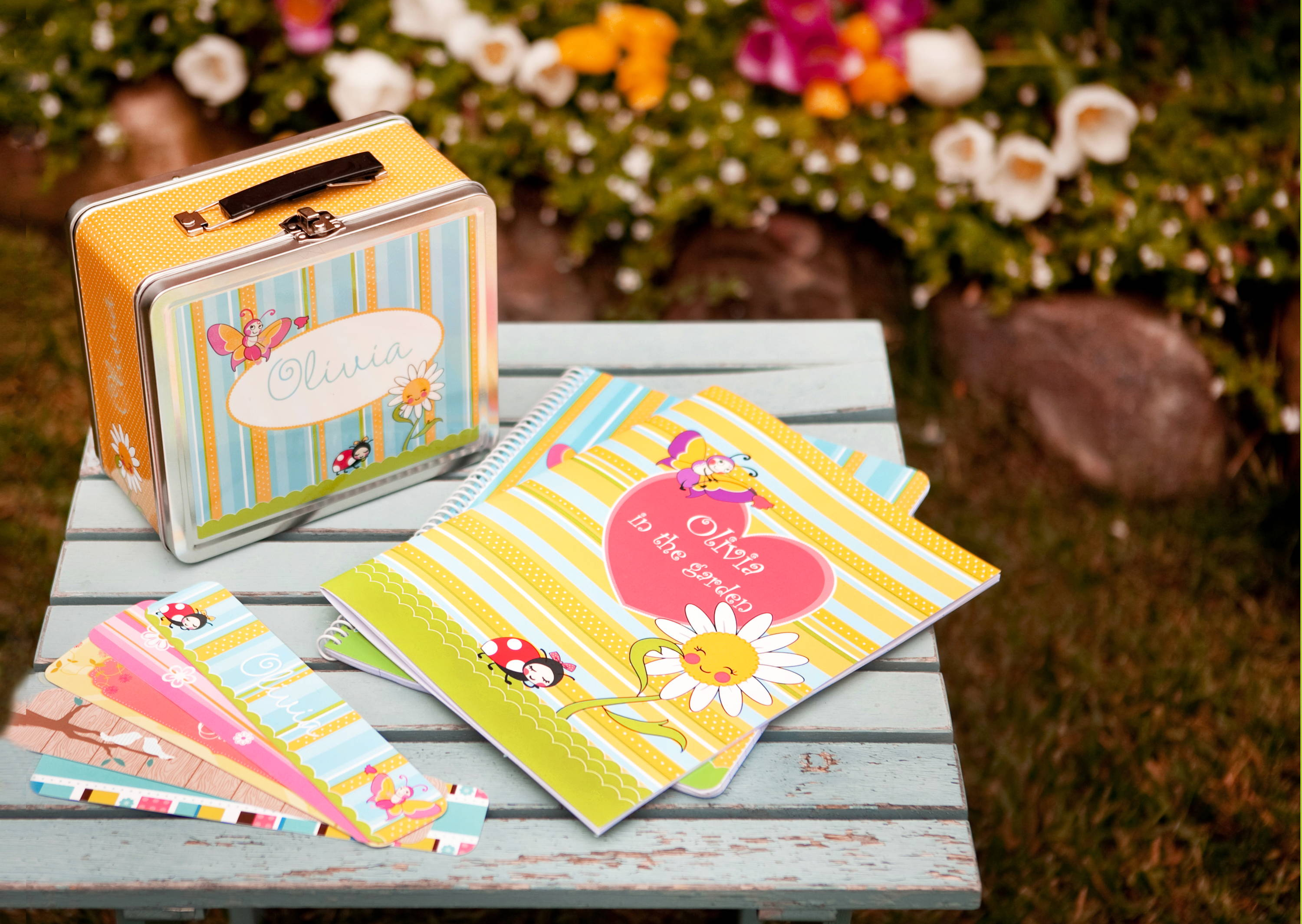 Garden Party Personalized gifts for children