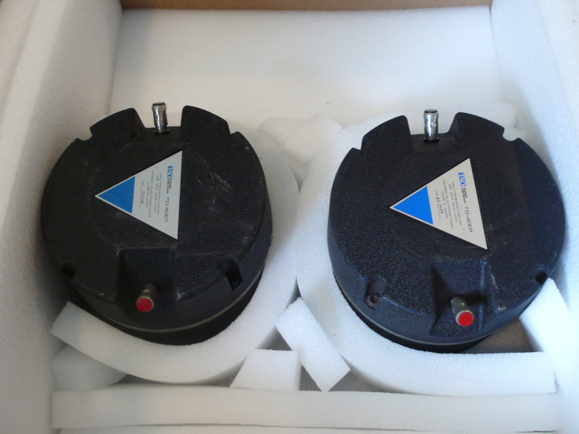 TAD TD-4001 horn drivers with Radian 1292 diaphragms