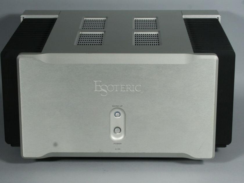 Esoteric A-03 Class A Power Amplifier