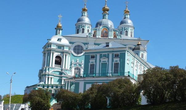 «Взгляд через века...» с посещением Смоленского собора.