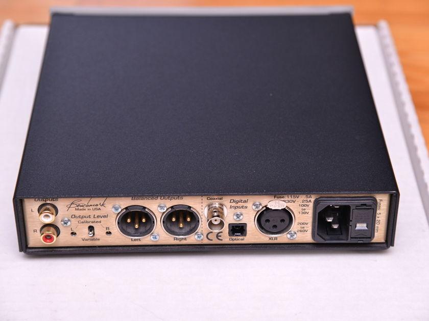 Benchmark DAC1 Silver 24-bit 192Khz DAC USA made