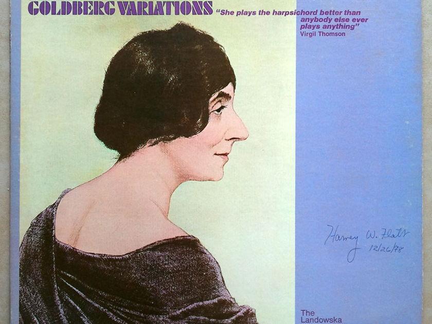 RCA | WANDA LANDOWSKA/BACH - Goldberg Variations / NM