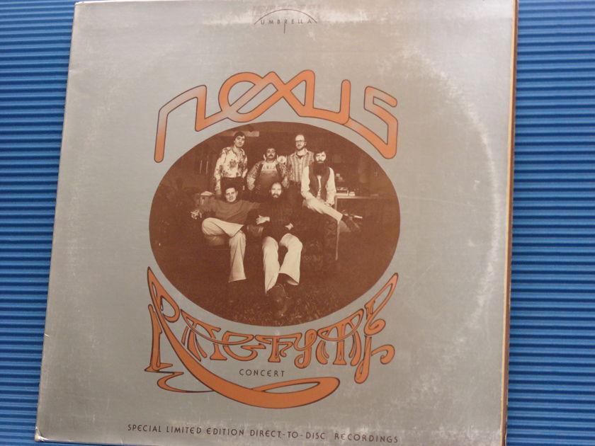"NEXUS   - ""Ragtime Concert"" -  Umbrella Direct to Disc 1976 Rare!"