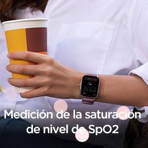 Amazfit GTS 2e - Medición del nivel de SpO2