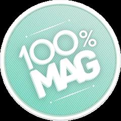 100%Mag capsule transparente nez