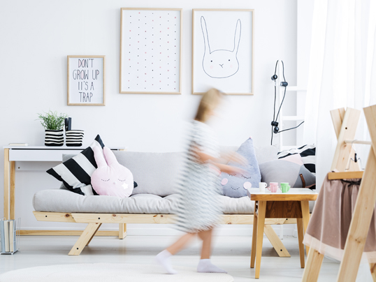 Santander - Read our guide to having a home that works with your kids to stay tidy, organised and clutter-free.
