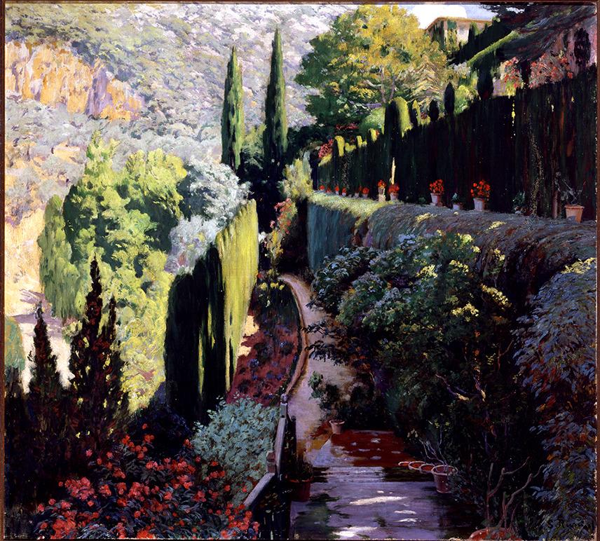 Rusiñol, Green Wall. Sa Coma, V