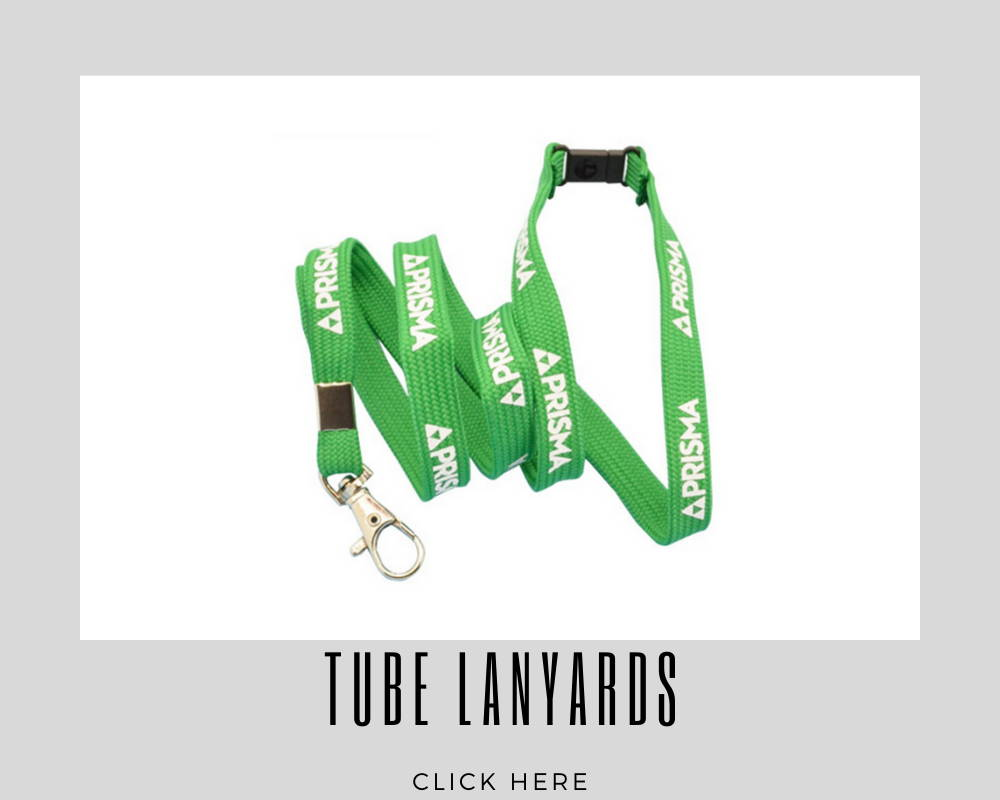 Custom Corporate Tube Lanyards