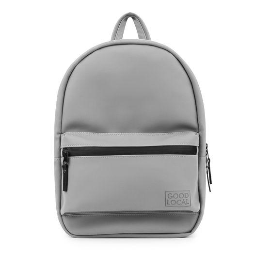 Рюкзак из экокожи GOOD LOCAL Daypack Eco M W/Zip Matte Grey