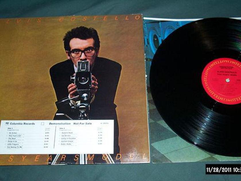 Elvis Costello - This Year's Model promo lp nm