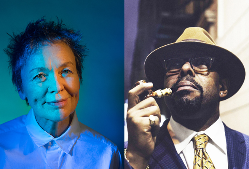Laurie Anderson & Christian McBride  with special guest Rubin Kodheli artwork
