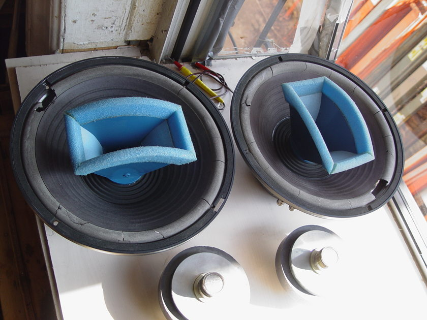 "Pair Urei 12"" 809 Time Align Studio Monitors Speakers 809A-lL COAXIAL Warranteed a REAL BARGAIN  7day return warrantee"