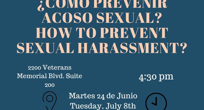 Como prevenir el acoso sexual en mi empresa