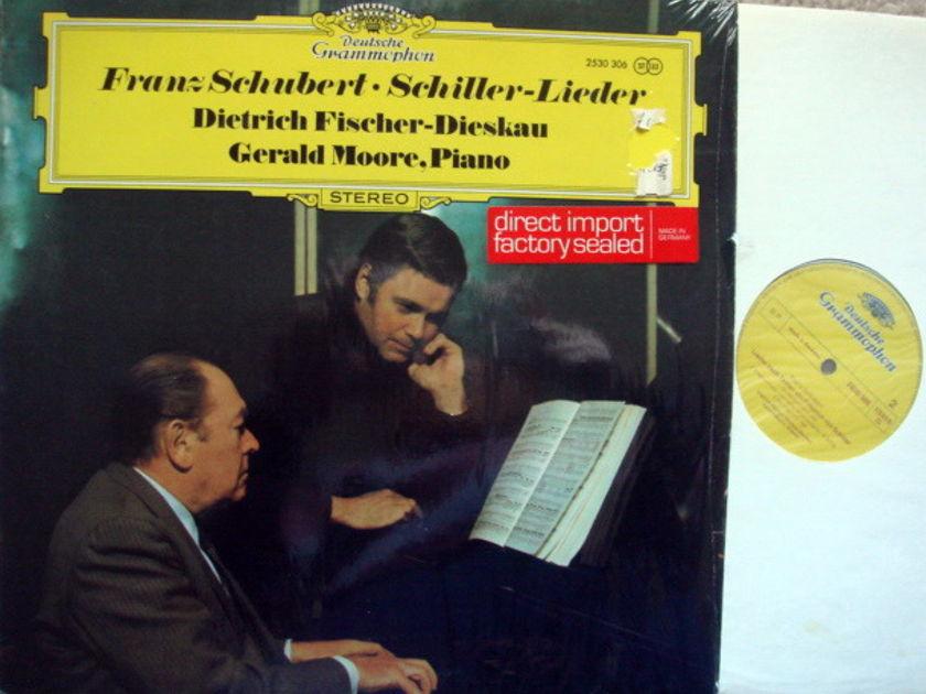 DG / FISCHER-DIESKAU-MOORE, - Schubert Schiller Lieder, MINT!