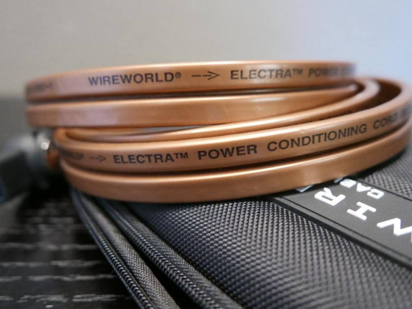 Wireworld Electra OCC Copper Power Cord 2m Excellent