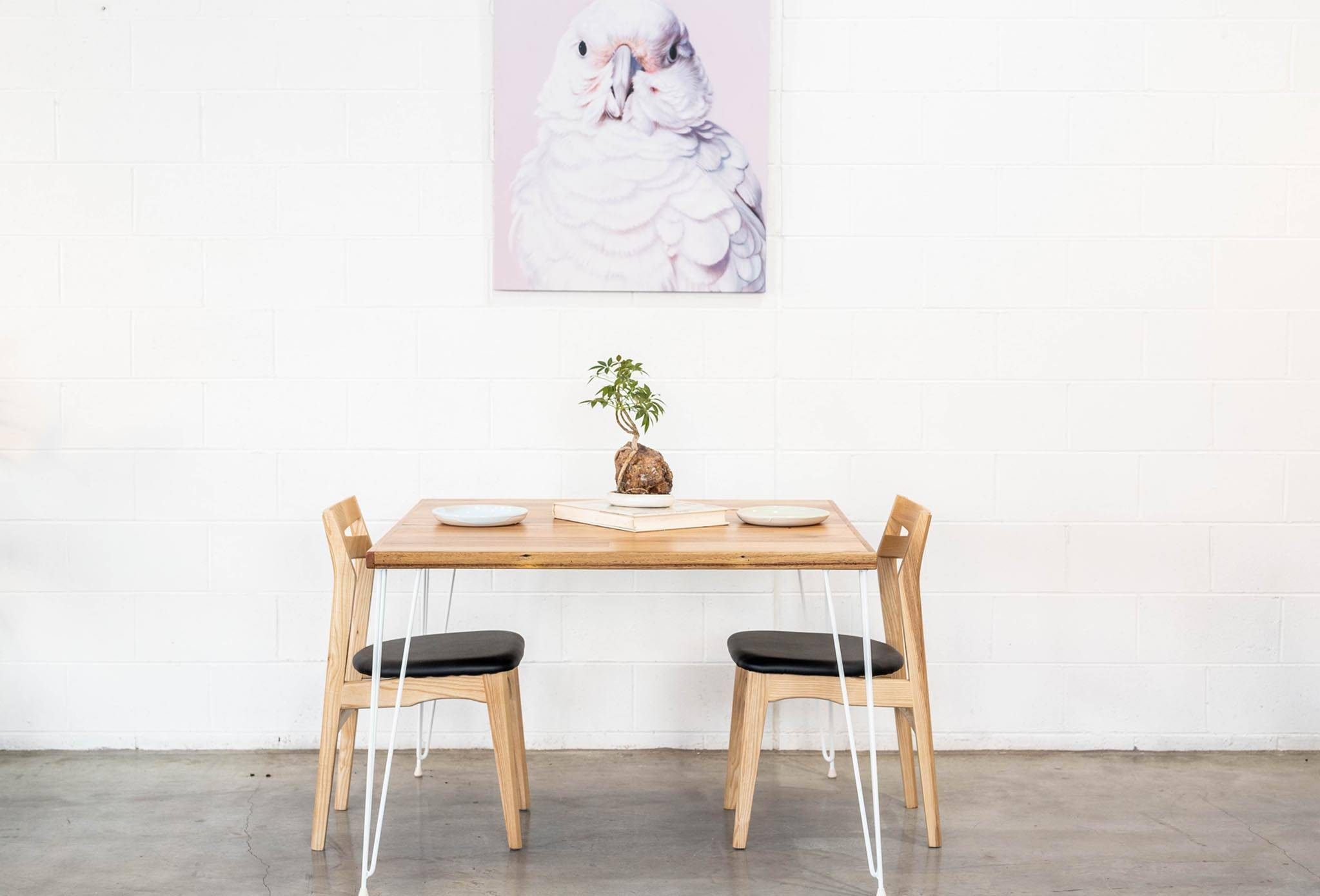 Appartment Size Table - Hairpin Legs