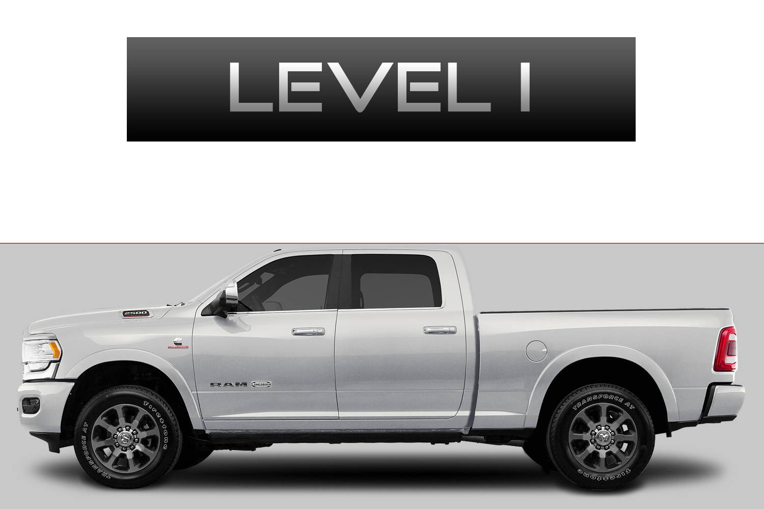 Dodge RAM 2500 Off-Road Customizing Package Level 1 by 3C Trucks