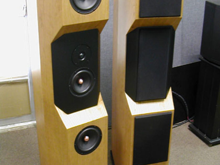 Tyler Acoustics D2's in cherry! warranty!