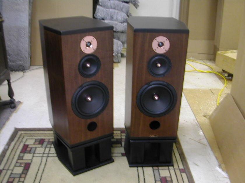 Tyler Acoustics  MM5 demos in dark walnut! $2600 shipped!