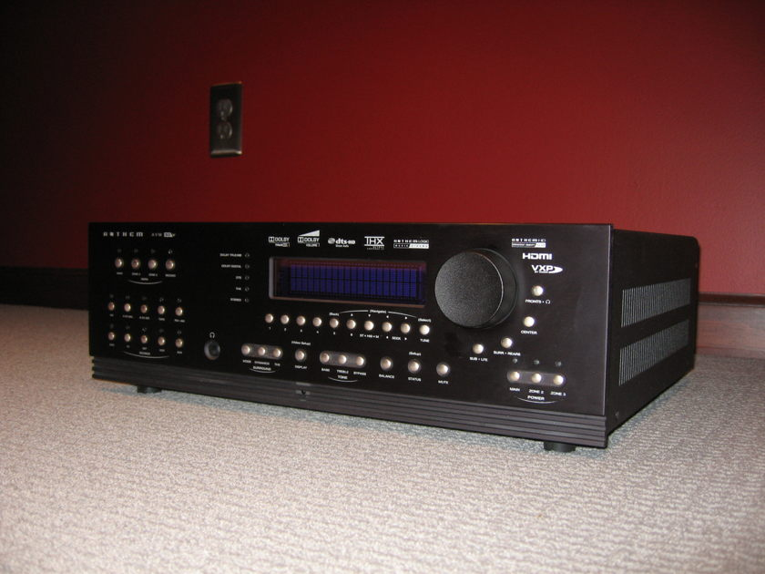 ANTHEM AVM-50V WITH ARC Home Theater Processor