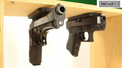 under desk gun mount