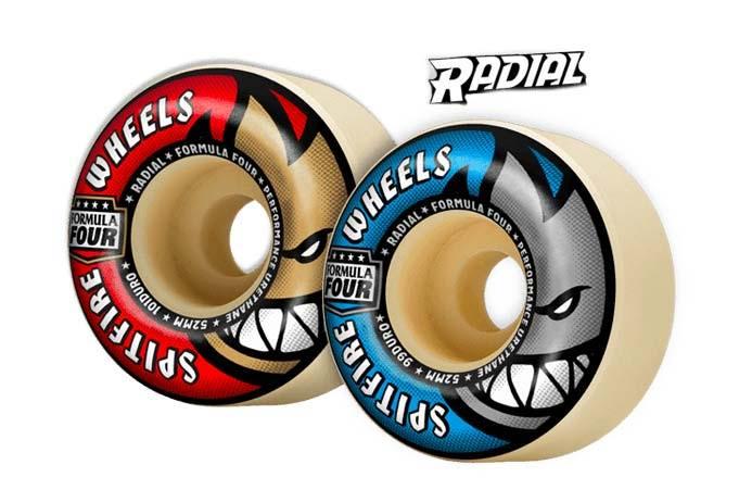 Spitfire Wheels Formula Four Radial ruota da skate