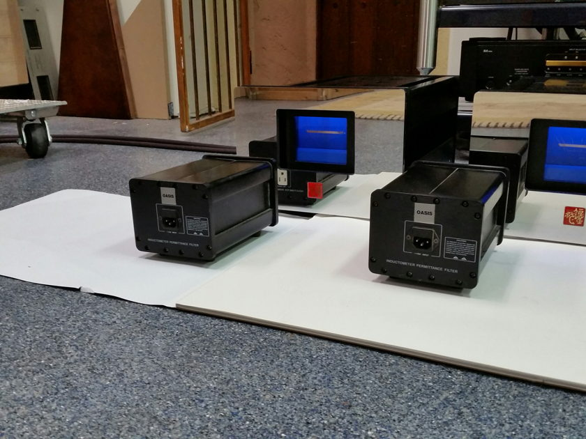 OASIS S-200M Monoblocks (2) with 2 choke filters